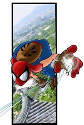 spider_man mangaverse by macuy19