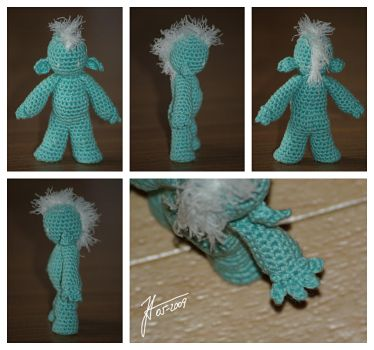 The Crocheted: Troll Prototype by janey-in-a-bottle