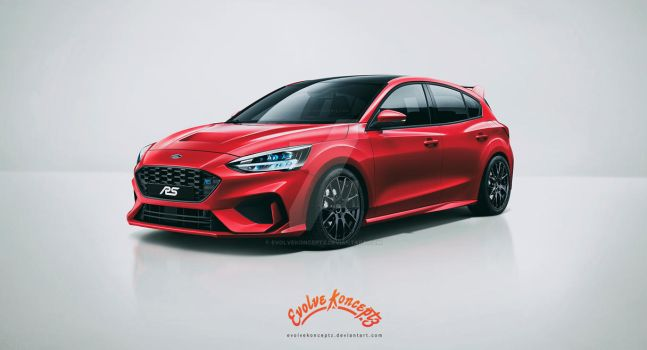 Ford Focus RS 2019 by EvolveKonceptz