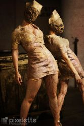 Silent Hill Nurses by allison-rose