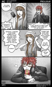 MC Prologue Pg 18 Mystic Messenger by MariStoryArt