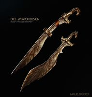 Weapon Design Sword by DiceArtist