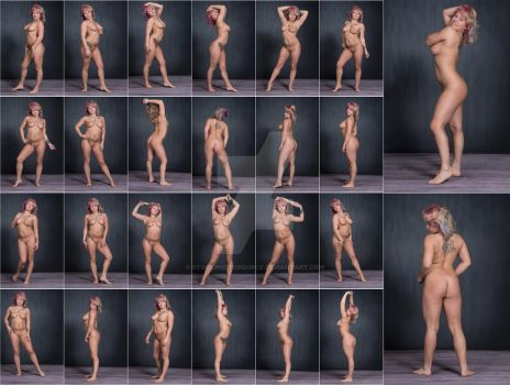 Stock: Ashley Taylor Standing Nude - 26 Images by stockphotosource