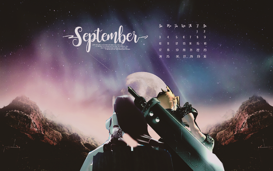 September Wallpaper by tinystrawberry