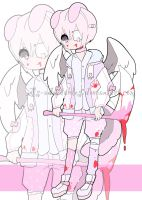 sweet yandere angel adoptable CLOSED #2 by AS-Adoptables