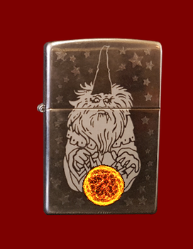 Zippo Shortcut 5 (animated) For Xwidget by DaveBreck