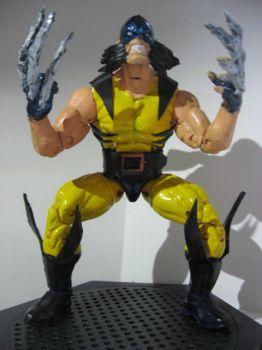 Feral Wolverine custom figure by Chris Motito by custom777