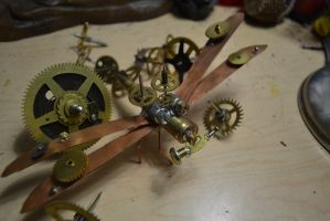 Steampunk dragonfly 1 by AmbitiousArtisan