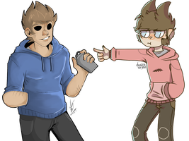 a tord and a tom by domiinos