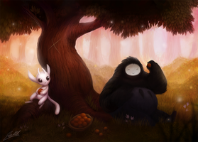 Ori and the Blind Forest Fan Art by Kittrix