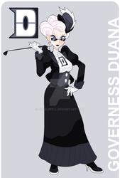 Governess Duana by Cerulebell