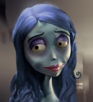 Corpse Bride portrait by userthiago