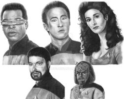 STNG Drawing Finished print by DChan75