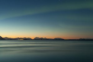 Aurora sunset stock by Aredelsaralonde