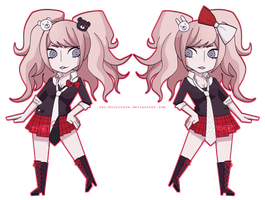 Chibi Despair Sisters by Rei-Microwave