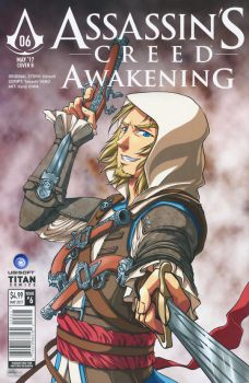 Assassin's Creed: Awakening Manga cover variant by sonialeong