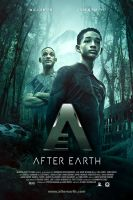 After Earth Movie Poster by bpenaud