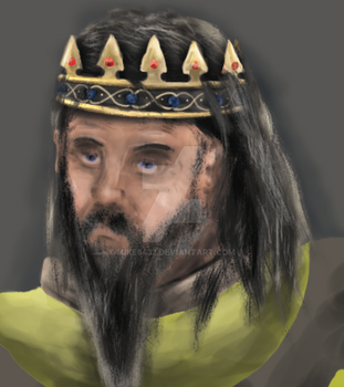 An untrusting king in process by mike6432