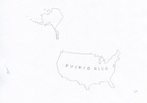 Puerto Rico by schreibstang