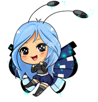 Chibi Female Vivillon