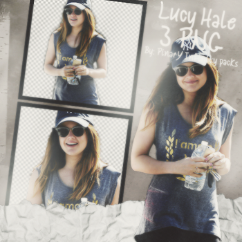 Lucy Hale Png Pack by Pn5Selly