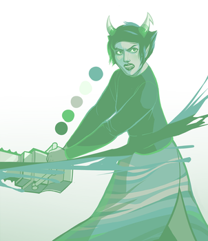 Homestuck: Kanaya palette request by Sword-Dance