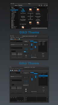 DeLorean-Dark-Theme-3.6 vs.2.56 by killhellokitty