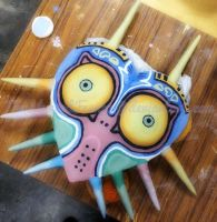 Majora's Mask (ceramic project) by TumbleweedFrenzy