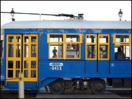Blue Streetcar by jensaarai