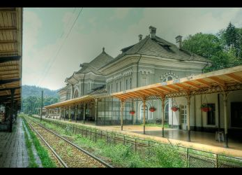 The old Sinaia Station... by Iulian-dA-gallery