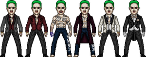 Jared Leto Joker  Suicide Squad by dannysmicros