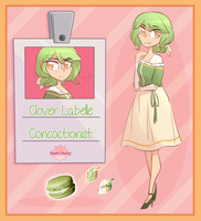 [SF] Clover Labelle by Bluespryte