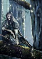 Elf of Lorien by SaMo-art