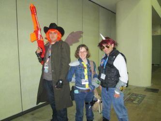 Calamity, Lil' Pip, and Blackjack Bronycon 2014 by Browns12M1