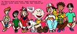 A Valentine from Ash and Friends to Charlie Brown by gwspaid3