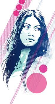 Anggun|Vector Tribute by Psycool
