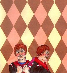 Fred and George Weasley by Thercery