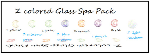 Z colored glass spa pack by ZinniaE