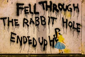 Alice through the Rabbit Hole by deepgrounduk