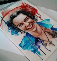 Harry in watercolor by SonnyScorp