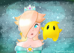 Rosalina and Luma by Heavenly-Bright