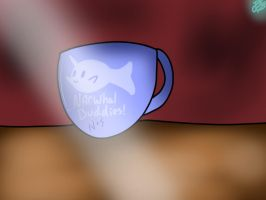 Narwhal buddies for ever... by BBrownie1010