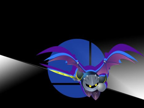 Super Smash Bros- Meta Knight by JeffHighwind