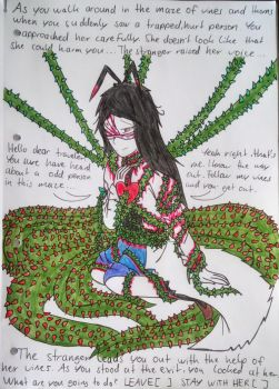 (Vent Art) Thorns and Vines (read desc!!!)  by Bloodrainnightmare