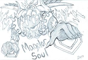 Magolor Soul Sketch by lightningcard18