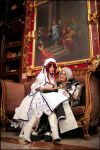 Trinity Blood - Esther + Abel by Calssara