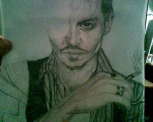 johnny depp wip 2 by babygirlsart