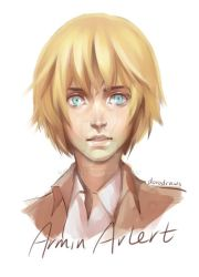 Armin Arlert by dorodraws