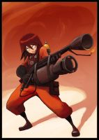Pyro Girl by Lutherniel
