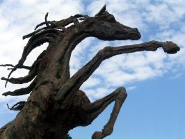 Horse Statue by ce3Design